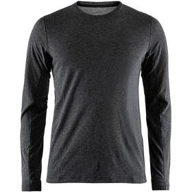 Craft Urban Run LS Wool Shirt Men dk grey melange